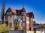Görlitz, Villa, Fassadenansstrich, Fassadenanstrich durch Malermeister Goldfriedrich, Malerbetrieb