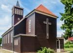 Niesky Sonnenweg 18 katholische Kirche Malermeister Maler Goldfriedrich Malerbetrieb